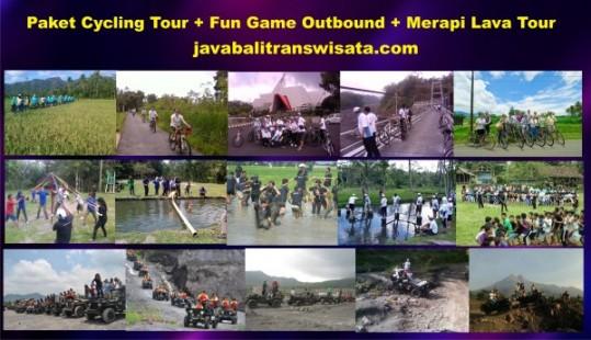 Paket Teambuilding Outbound dan Lava Tour Merapi