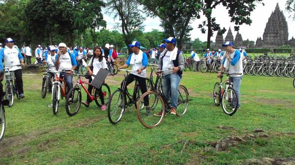 prambanan village tour dengan sepeda