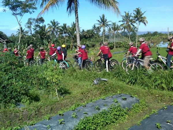 wisata sepeda di kaliurang
