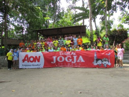 PT AON Fun Outing - amazing race game di Jogja