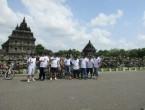 wisata sepeda Indofood di candi Prambanan