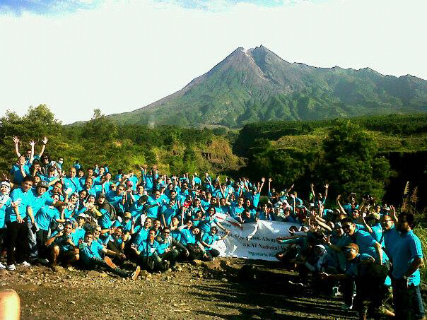 Outbound di Merapi