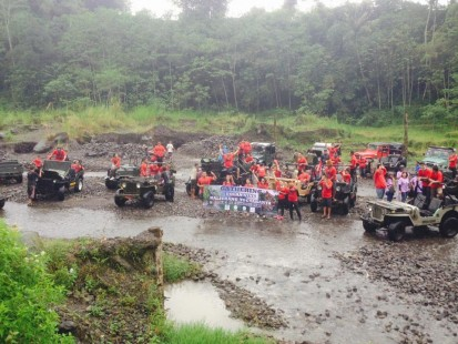Fun outing di Merapi