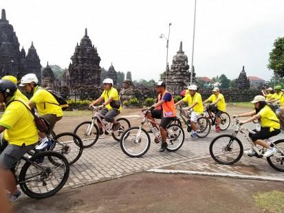 heritage prambanan fun cycling