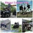 Rute Jeep Offroad Merapi Melewati Lost World Castel dan Stonehange