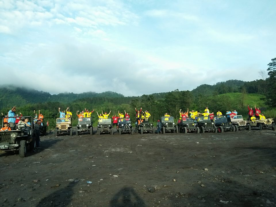 amazing race outbound di merapi