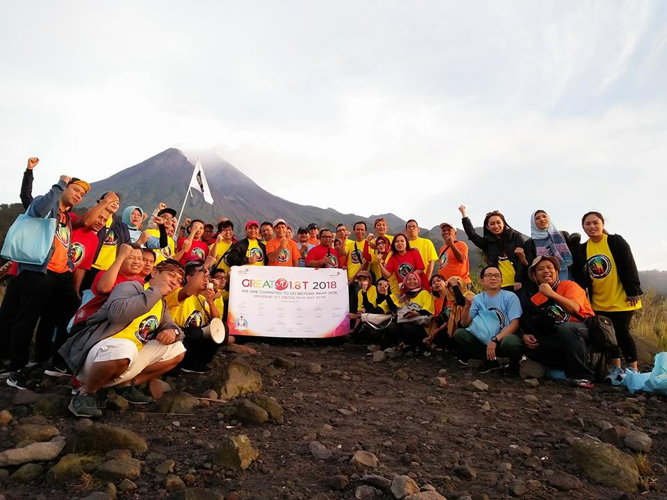 Teambuilding outbound di Merapi