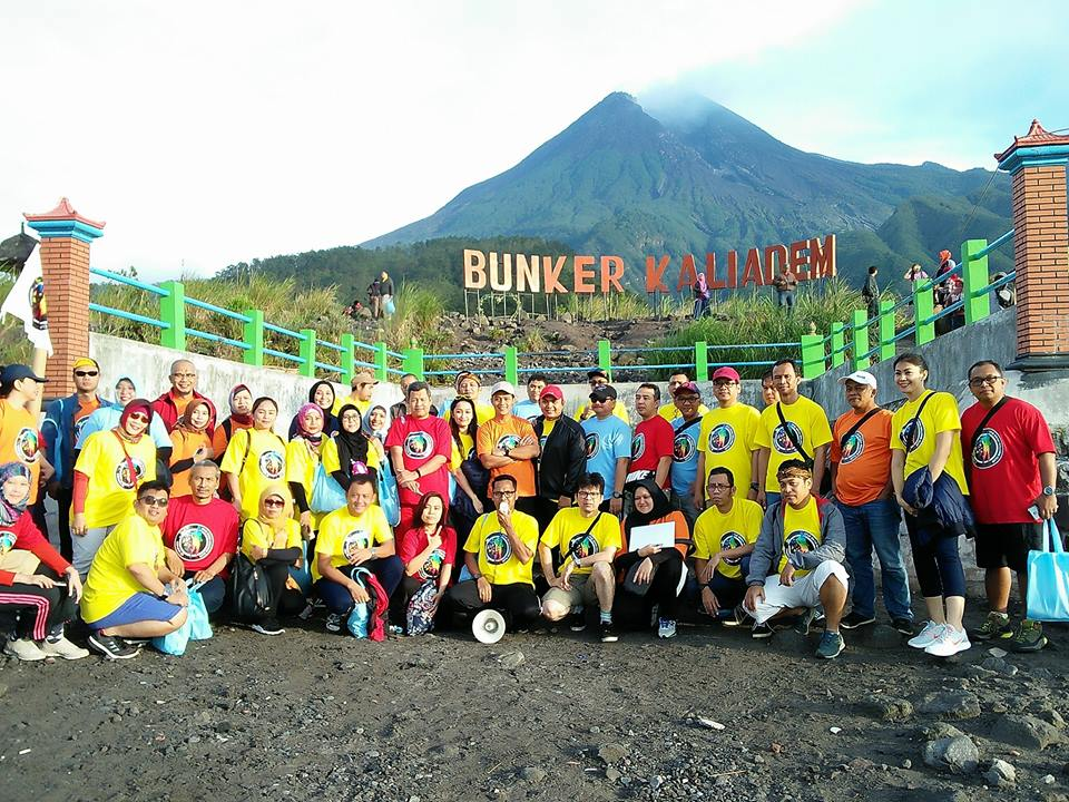 team building outbound di merapi