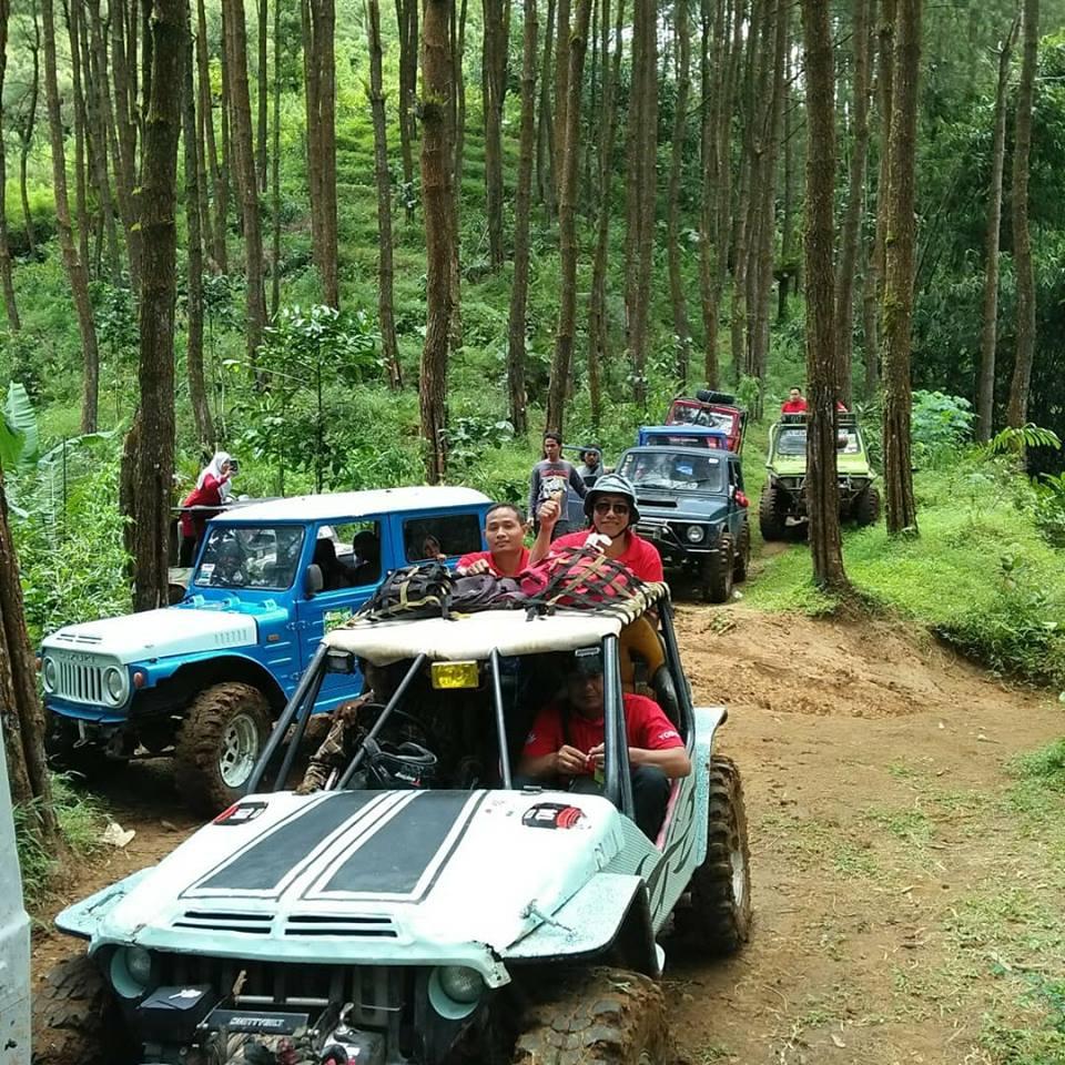 jeep wisata offroad di nglinggo