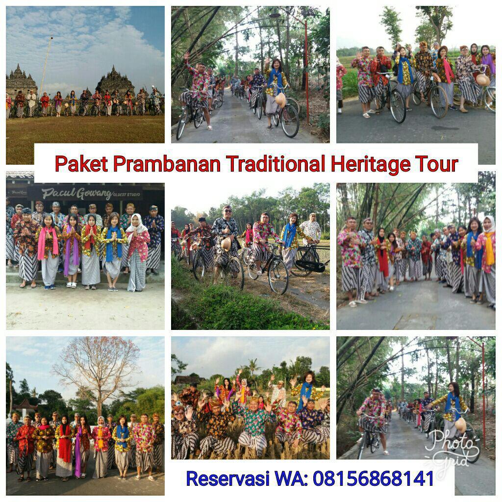 Gathering seru di Prambanan dengan Pakaian Tradisional