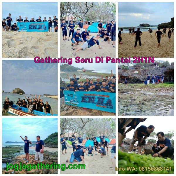 amazing race outbound team building di pantai