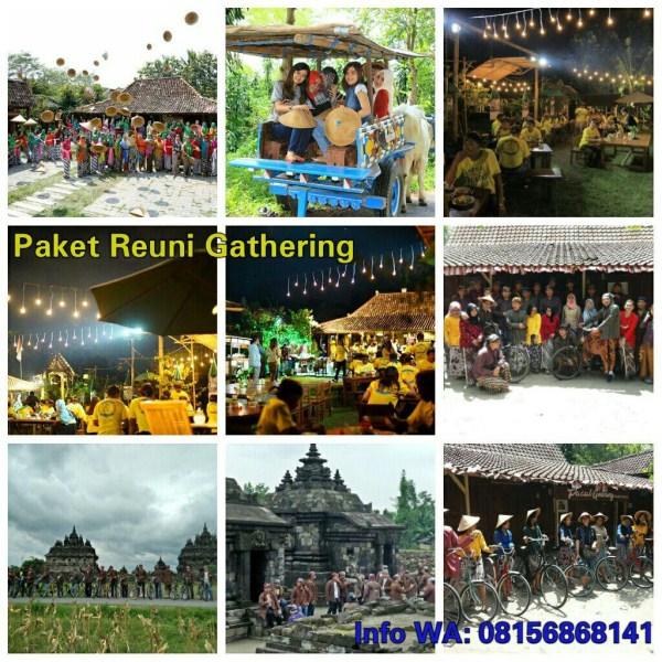 Paket Gathering Wisata Budaya Plaosan Heritage Tour