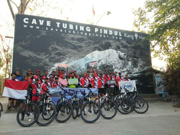 amazing race outbound di pindul