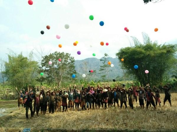 gathering di desa wisata borobudur