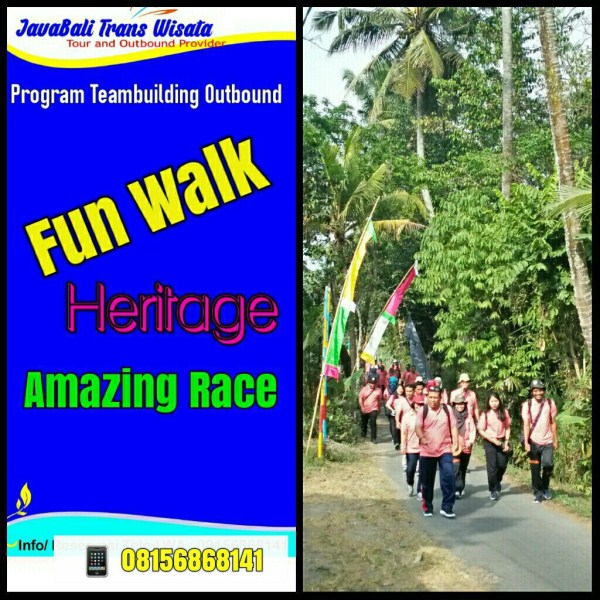 fun walk heritage tour amazingrace outbound