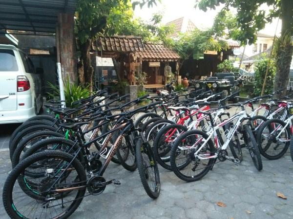 jasa sewa sepeda fasilitas otel