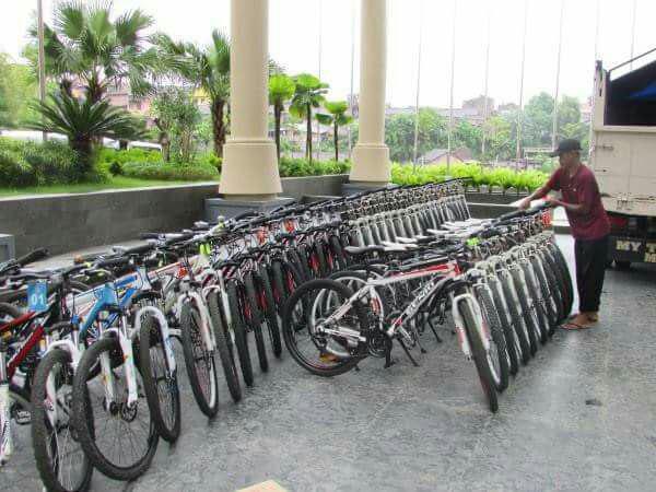 Hotel Penyedia jasa Rental sepeda dan paket wisata Tour sepeda di Jogja