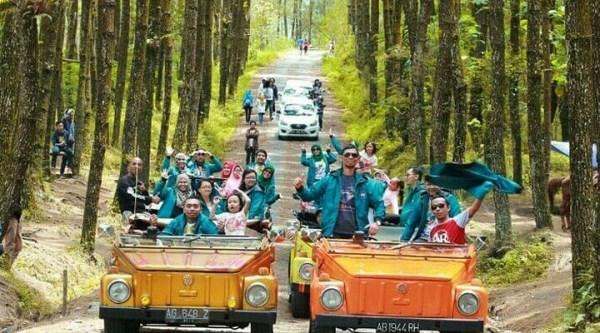 VW Tour Borobudur Rute Svarga Bumi dan Mata Langit