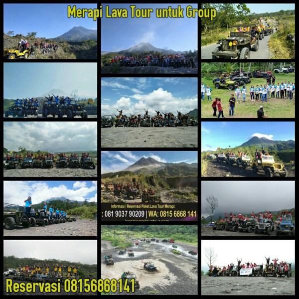 Paket Kaliurang Explore kaliurang dan Jeep Merapi Lava tour s