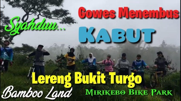 Gowes Rute Bamboo Land Turgo Bike Park