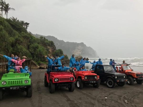 Sunset Jeep Wisata Bukit Paralayang