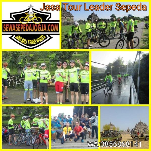 Jasa Pemandu Tour Sepeda Di Jogja: Marshal, Road Captain dan Loading