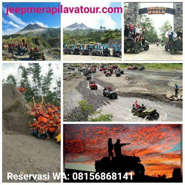 wisata lava tour saat pandemi dan Status Merapi Naik